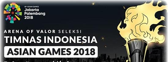 Timnas Indonesia Akan Hadapi Timnas Chinese Taipei Di Pertandingan Pertama AOV Asian Games 2018