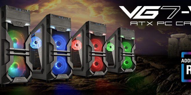 Sharkoon VG7-W, Case PC Modern Dengan Harga Terjangkau