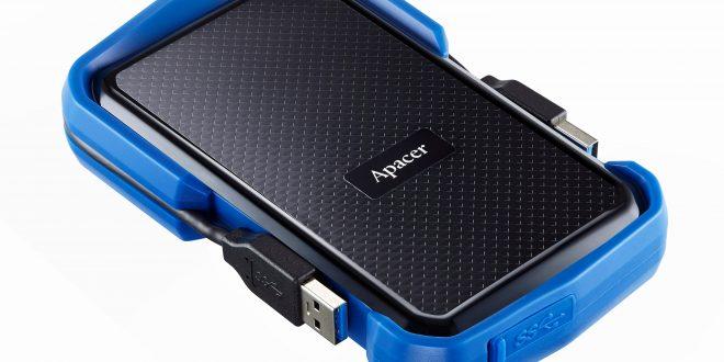 Tidak Perlu Takut Lagi! Hard Drive Portable Apacer AC631 USB 3.1 Gen 1 Military-Grade Tahan Guncangan Memberikan Perlindungan Menyeluruh untuk Data Berharga Anda