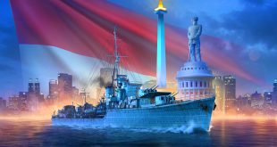 Kapal Perang Pan Asian Hadir di World of Warships