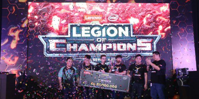 "Tim Headhunters Mewakili Indonesia dalam Kontes Gaming Regional Lenovo ""Legion of Champions"" di Bangkok"