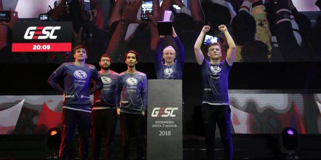 Tim Evil Geniuses Juarai GESC Jakarta Minor 2018