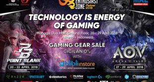 The Enthusiast Zone Festival 2018 Kompetisi eSport berskala Nasional