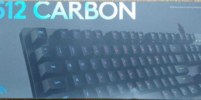 Review Mechanical Gaming Keyboard Logitech G512 Carbon Romer-G Linear