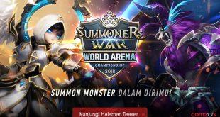 Com2uS Kembali Menyelenggarakan Turnamen eSports Global Tahun Ini! Summoners War World Arena Championship 2018