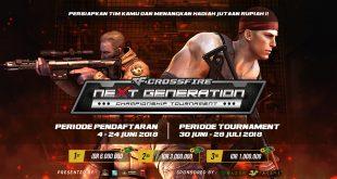 Crossfire Nextgen Hadirkan Tournament Online Pertama
