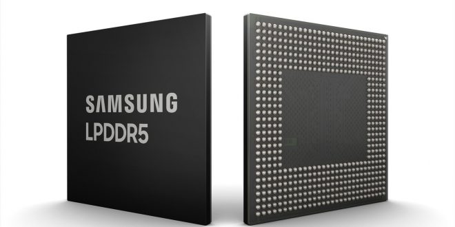 Samsung Umumkan pengembangan DRAM 8Gb LPDDR5 Pertama menggunakan Teknologi 10 nm