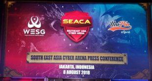 UniPin eSports Menyelenggarakan  Kompetisi  eSports Internasional SEACA dan WESG di Indonesia