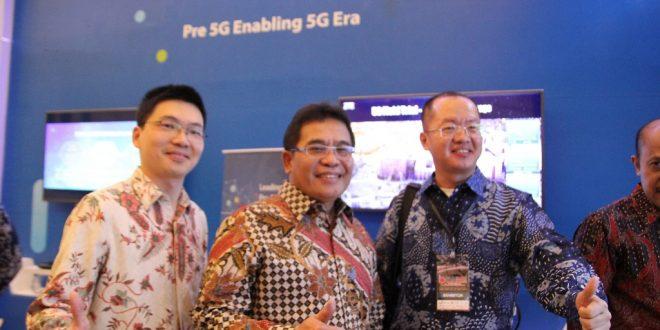 ZTE Melanjutkan Komitmen Untuk Mendorong Kemajuan Sektor Telekomunikasi Indonesia, di Bandung ICT Expo & Digital Broadband Summit 2018