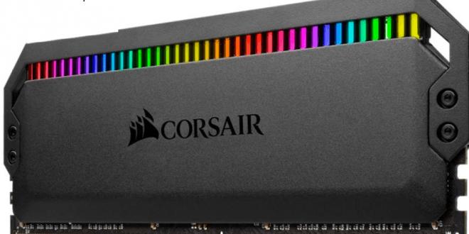 CORSAIR Luncurkan Memori DDR4 DOMINATOR PLATINUM RGB