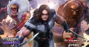 MARVEL FUTURE FIGHT MERILIS UPDATE X-FORCE